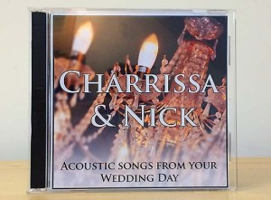 Personalised wedding CD 1