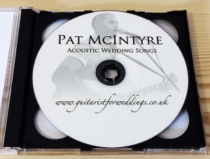 Personalised wedding CD 2