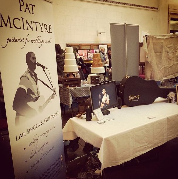Image of Pat Exhibiting at Chosen Wedding Fair