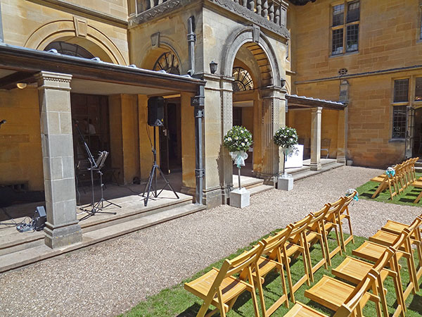 image:Coombe Lodge wedding music