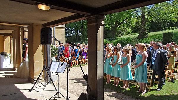 image: wedding ceremony