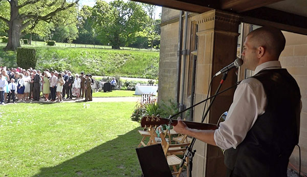 image: Wedding ceremony guitarist Bristol