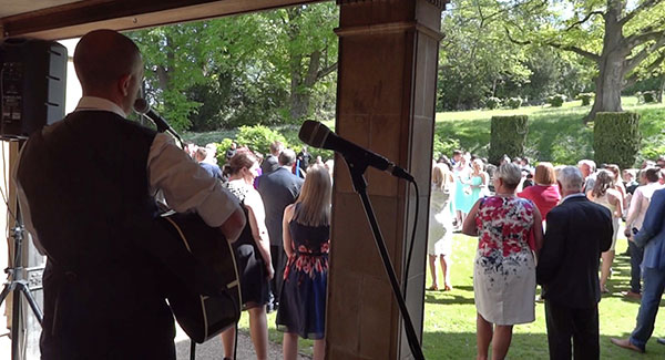 img: Wedding Reception Guitarist Coombe Lodge