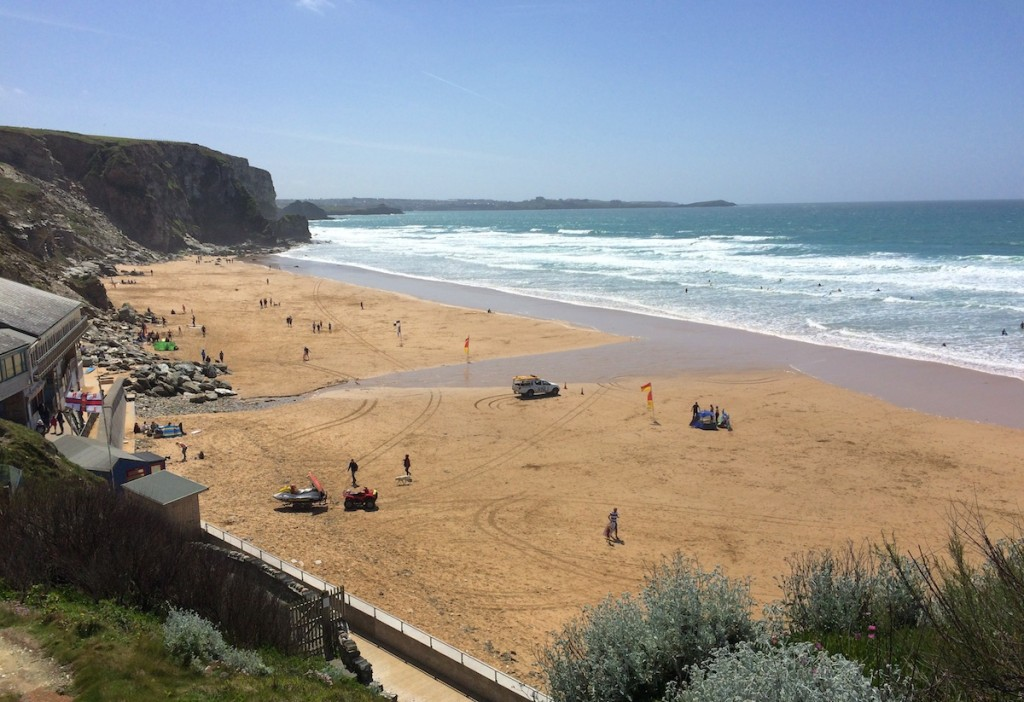 The Beach at Watergate Bay
