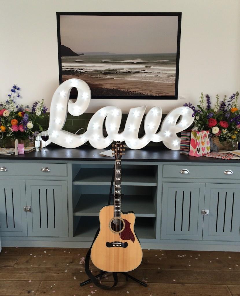 Image: Wedding Guitarist and Singer Cornwall