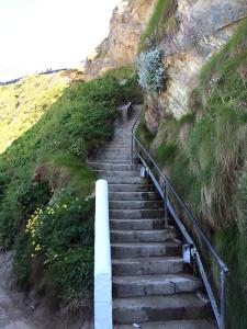 image: Steps at Lusty Glaze