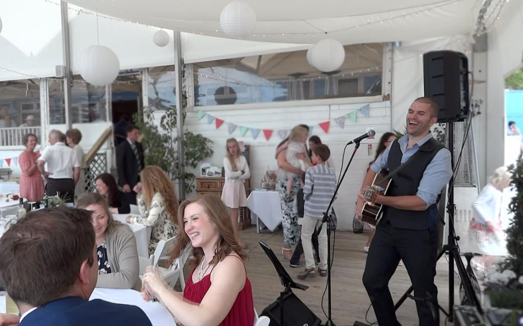 image: Live wedding music Lusty Glaze Cornwall
