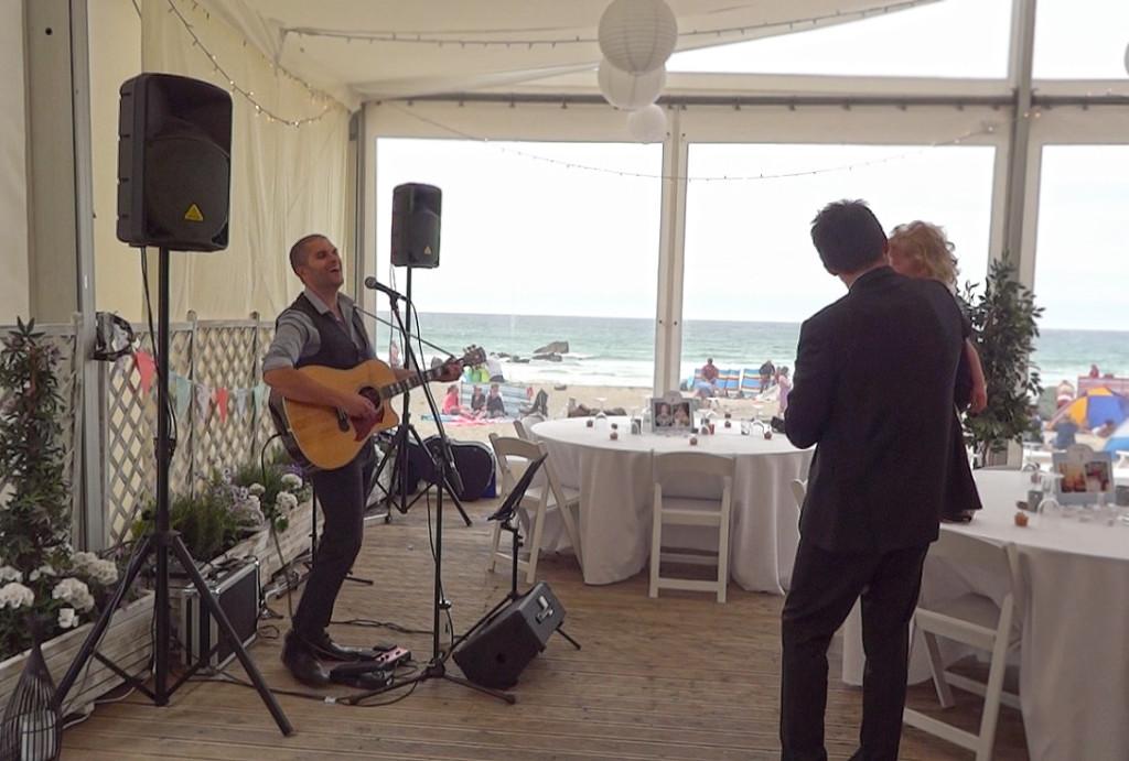 image: Live wedding music Lusty Glaze Cornwall (2)