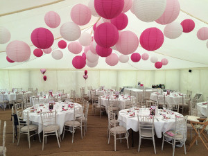 image: Mill End Hotel wedding marquee